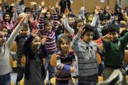 Kinder des Sprachförderprogramms MITsprache