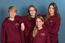 Schülerbischöfe der Evangelischen Schule Steglitz