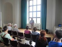 Berlin summt!-Vortrag im Sophie-Charlotte-Saal des Berliner Doms